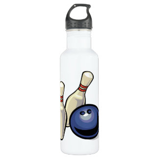Bowling Stainless Steel Water Bottle