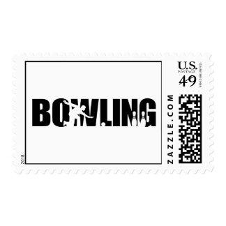 Bowling Stamp