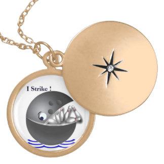 Bowling Strike Ball Necklace