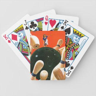 Bowling Strike Bicycle Playing Cards