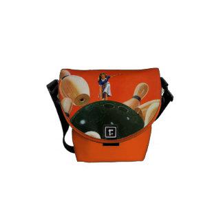 Bowling Strike Courier Bag