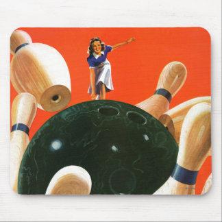 Bowling Strike Mouse Pad