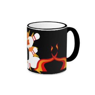 bowling strike -mug