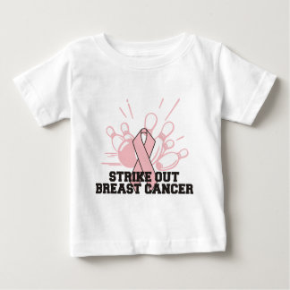 Bowling Strike Out Breast Cancer Infant T-shirt