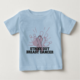 Bowling Strike Out Breast Cancer Shirt