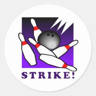 Bowling: STRIKE! Sticker