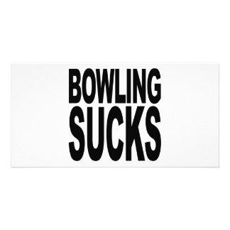 Bowling Sucks Card