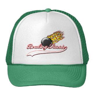 Bowling Suicide Cap Trucker Hat
