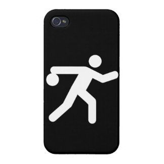Bowling Symbol Cover For iPhone 4