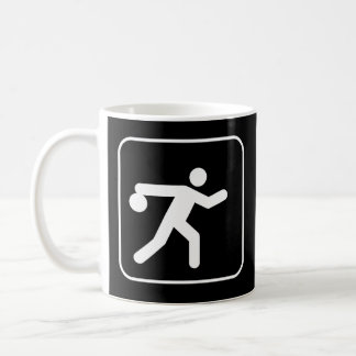 Bowling Symbol Mug