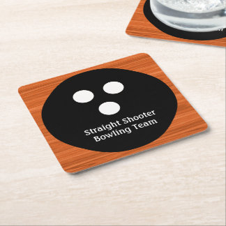 Bowling Team Budget Coasters