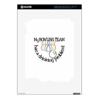Bowling Team Skin For iPad 3