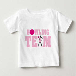 bowling team woman bowling female player camisetas