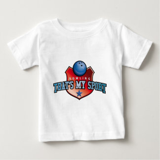 bowling - that's my sport t-shirts