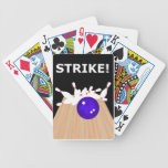 Bowling Theme Bicycle Playing Cards Decks