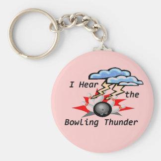 Bowling Thunder Keychain