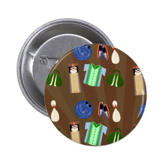Bowling Time! Pinback Button