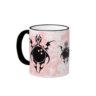 bowling. tribal. ringer mug