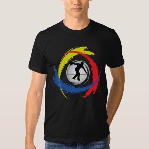 Bowling Tricolor Emblem T Shirt