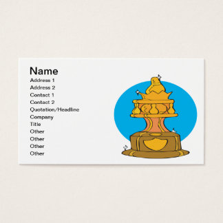 Bowling Trophy Business Card