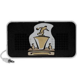 Bowling Trophy iPhone Speaker