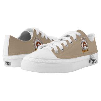 Bowling Turkey design Printed Shoes