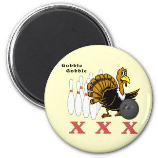 Bowling Turkey XXX 2 Inch Round Magnet