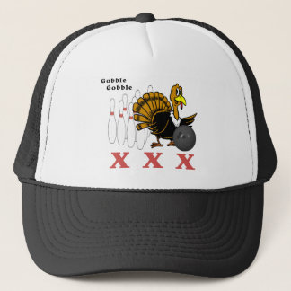 Bowling Turkey XXX Trucker Hat