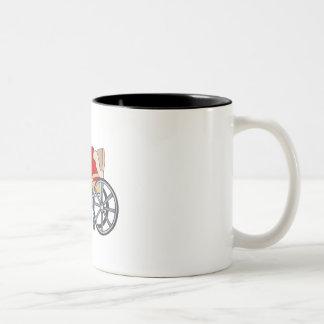 Bowling Two-Tone Coffee Mug