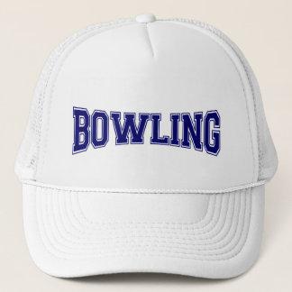 Bowling University Style Trucker Hat