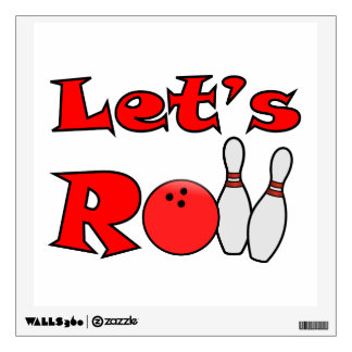 Bowling Wall Decals - Bowling Stickers