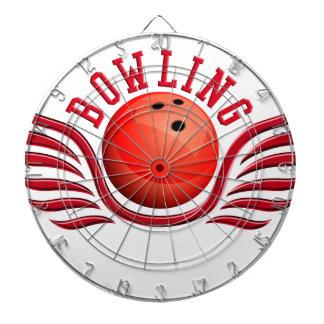 bowling wings dart board