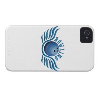 bowling wings iPhone 4 Case-Mate case