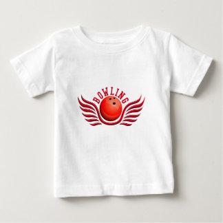 bowling wings t shirt