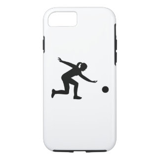 Bowling woman iPhone 8/7 case