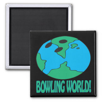 Bowling World Magnet