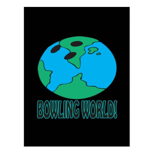 Bowling World Post Cards