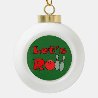 Bowling Xmas Gift - Bowling Christmas Ornaments