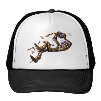 bowlingmad trucker hat