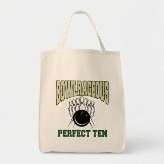 Bowlrageous Perfect Ten Bowler Tote Bag