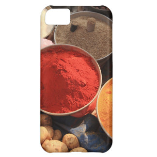 Bowls of cooking spices in Indian market Cover For iPhone 5C