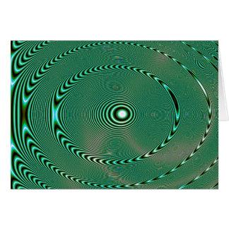 Bowls of Liquid (card) Greeting Card
