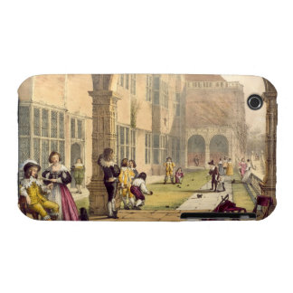 Bowls on the Terrace at Bramshill in 1600, from 'A iPhone 3 Cover