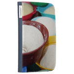 Bowls with bread dough kindle covers