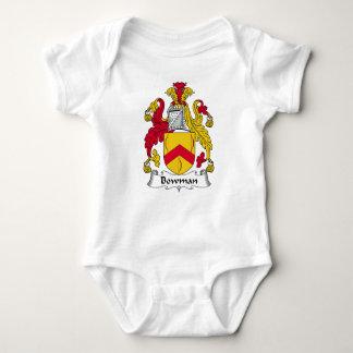 Bowman Family Crest Baby Bodysuit