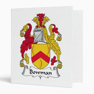 Bowman Family Crest Binders