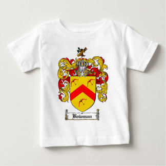 BOWMAN FAMILY CREST -  BOWMAN COAT OF ARMS BABY T-Shirt