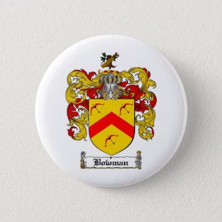 BOWMAN FAMILY CREST -  BOWMAN COAT OF ARMS BUTTON