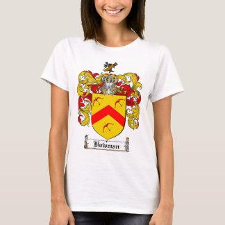 BOWMAN FAMILY CREST -  BOWMAN COAT OF ARMS T-Shirt