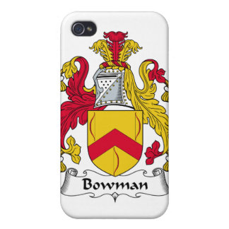 Bowman Family Crest Case For iPhone 4